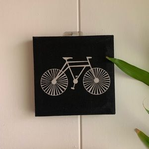 Bicycle canvas print wall deco